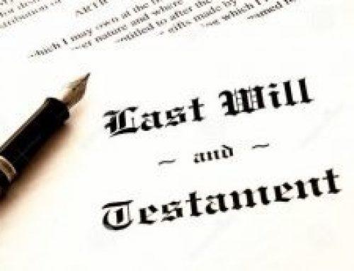 Terminología de los testamentos: español vs inglés